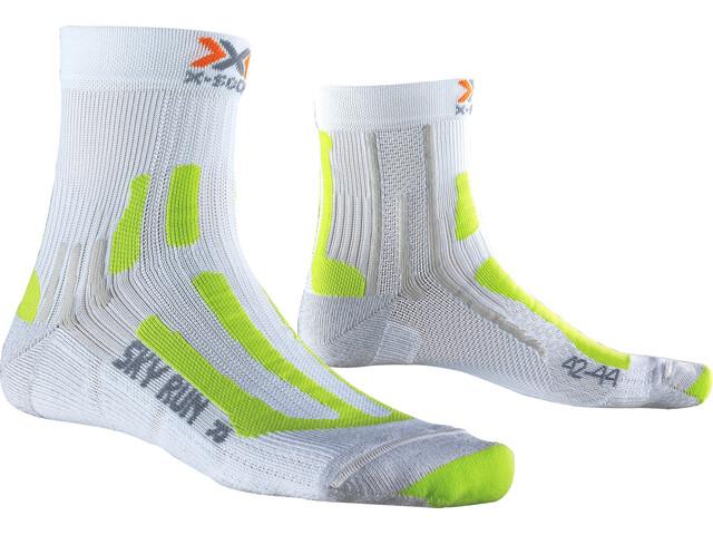 X-Socks M's Sky Run 2.0 Socks White/Green Lime